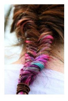 Chalked Fishtail Braid