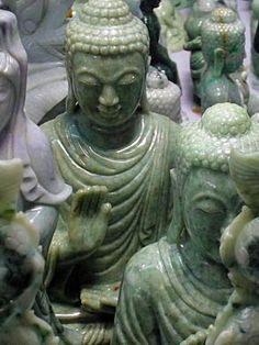 Jade buddhas - Patricia's home