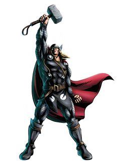 The mighty Thor ~ Marvel Vs, Marvel Dc Comics, Marvel Heroes, Anime Comics, Superhero Background, Female Thor, Avengers Team, Lady Loki, The Mighty Thor