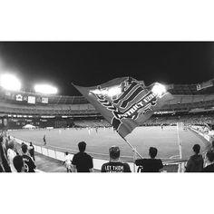 District Ultras (DC United) for CONCACAF Champions League. #DCU #jspsam #ig