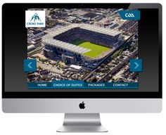 Croke Park by Andrew Dewdney , via Behance Interactive Web Design, Croke Park, Corporate Presentation, Park Homes, Case Study, City Photo, Software, Armour, Behance