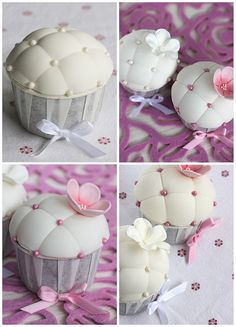 Pillow cupcakes | Flickr - Photo Sharing!