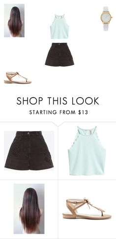 """Sem título #136"" by monroden on Polyvore featuring Valentino, Sole Society e Vivani"