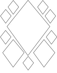 13 Diamond Shapes for Kids Diamond Shapes for Kids. 13 Diamond Shapes for Kids. Diamond Shape Kite Coloring Pages Kids Play Color Coloring Sheets For Kids, Coloring Pages For Girls, Coloring Books, Shape Coloring Pages, Pattern Coloring Pages, Shapes For Kids, Simple Shapes, Stencil Patterns, Shape Patterns