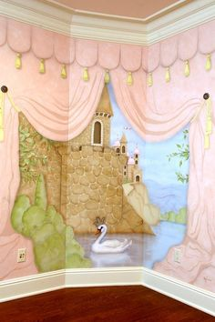 castle wall murals murals your way castle theme bedrooms