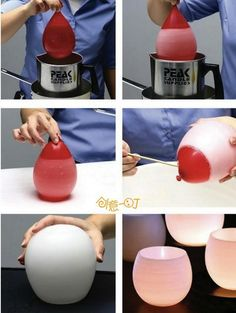 Creative, Easy DIY Crafts Using Balloons