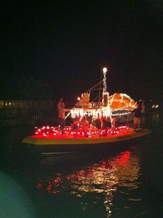 boat parade fort myers beach beach christmas parasailing visit florida outdoor christmas decorations family travel travel ideas boats