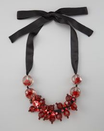 Y148E Marni Clustered Beads Necklace