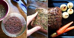 Roast Beef with Dijon Herb Rub Recipe