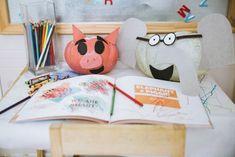 Piggie and Elephant pumpkins