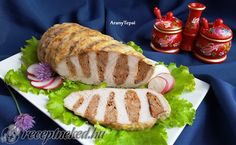 Érdekel a receptje? Meat Recipes, Dinner Recipes, Cooking Recipes, Cold Dishes, Hungarian Recipes, Picnic Foods, No Cook Meals, Food And Drink, Tasty