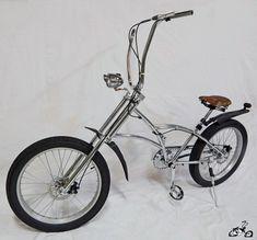 """Lowrider U Bicycle Chrome Handlebar 11/"""" 25.4mm @ mount Cruiser Chopper Bike"""