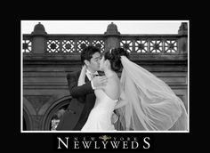 New York Newlyweds in Central Park