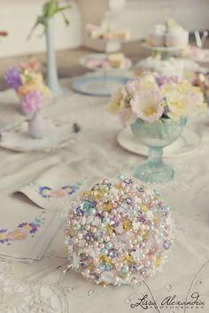 A Downton Abbey vintage party idea