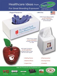 Healthcare Products to Go With Your PPE Sales Health And Wellness, Health Care, Promotion, Cancer, Branding, Flyers, Products, Brand Management, Ruffles