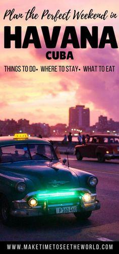 What to do in Havana Cuba