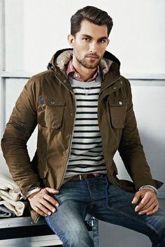 Stripe, gingham, outerwear.