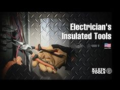 Electrician's #Insulated Tools – 1000V rated and VDE certified for safety on the job. The multi-color, sleek design with small thumbguards make for easy handling and storage. The three-part insulation with white underlayer provides a warning sign that insulation may be compromised. The durable, molded insulation meets or exceeds IEC 60900 and ASTM F1505 standards for insulated tools. Learn more at http://www.kleintools.com/content/electricians-insulated-tools