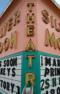 marquee from the silver moon in Lakeland Florida