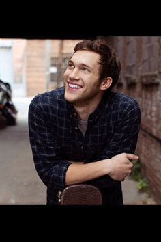 Phillip Phillips. I love this man, I could listen to his songs ALLLLLLLL day and NEVER get tired of him. <3