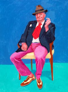 David Hockney RA: 82 Portraits and 1 Still-life | Exhibition | Royal Academy of Arts