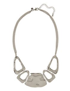 Open Metal Necklace | M&S