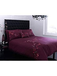 Pied a Terre Bamboo Flower bed linen - House of Fraser