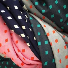"""""""For you garment lovers out there: here's a first peek at four of the prints in…"""
