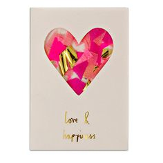 Love & Happiness Confetti Card