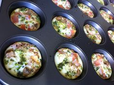 Behold The Magic of Egg Muffins via Brit + Co.