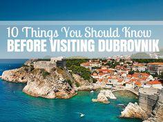Visit to Dubrovnik Croatia   Travel Croatia Guide