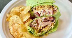 Chicken Salad Crunch Wraps Recipe Chicken Sandwich Recipes, Sandwich Ideas, Kettle Cooked Chips, Crockpot Recipes, Cooking Recipes, Cooking Tips, Spinach Tortilla, Crunch Wrap, Salad Wraps