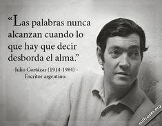 frases y libros de Julio Cortázar (1914-1984) Escritor argentino.
