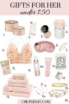 The Best Christmas Gift Ideas For Her Under $50 | Christmas Gift Guide For Her | Find great gifting ideas for your best friend, your mom or any teenagers who love girly gifts, beauty products and more! | Christmas Gift Ideas For Her, Gift Guide For Teenager, Gift Guide For Girls, Gifts For Mom, Gifts For Best Friend, girly gift ideas #christmasgiftideas #giftideas #giftguide #giftsforher #giftguideforher #chicpursuit #giftideas #ideasforchristmas #holidaygiftguide #christmasgiftguide