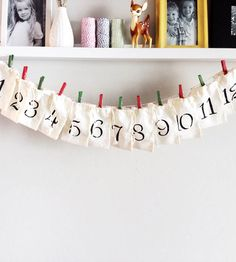 12 Days of Christmas Calendar Kit | Collections Happy Holidays | Print Smitten | Scoutmob Shoppe | Product Detail