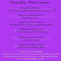 Asexual definition people pleasing
