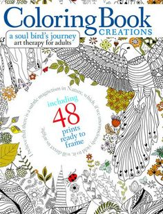 Coloring Book Creations A Soul Birds Journey