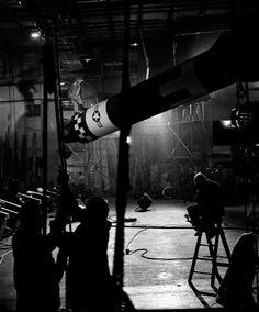 "midnightcafemovies: "" Behind the Scenes: Dr. Strangelove """