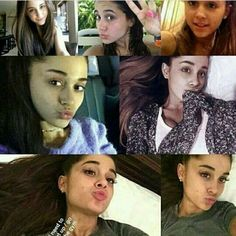 Ariana I love you so much your gorgeous with or without make up there's nothing you can't do stay fabulous baby doll