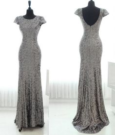 Hey, I found this really awesome Etsy listing at https://www.etsy.com/listing/187566766/silver-sequin-bridesmaid-dress-silver