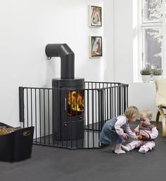 Buy BabyDan XL Fire Surround/Configure Gate, Black from our Baby Proofing & Gates, Guards & Playpens range at John Lewis & Partners. Stove Guard, Safety Gates For Stairs, Stair Gate, Fire Surround, Bothy, Baby Gates, Baby Safety, House, Baby Dan