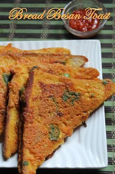 Bread Snacks Recipe, Snack Recipes, Coconut Prawns, Savoury French Toast, Prawns Fry, Complete Recipe, Chaat, Indian Dishes, Kitchens