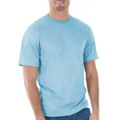 Gildan Mens Classic Short Sleeve T-Shirt, Men's, Size: Medium, Blue