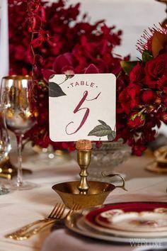 #innovias elige la elegancia del marsala para las mesas de bodas de invierno
