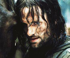 Viggo as Aragorn.