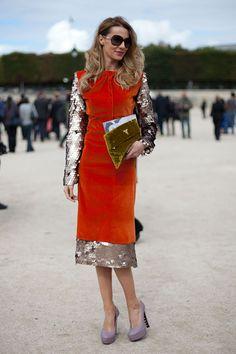 Street Style Spring 2013 - Paris Fashion Week Street Style - Harper's BAZAAR