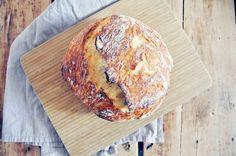 no-knead rustic bread
