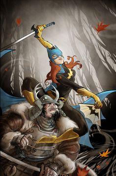 Batgirl by Ryan Smith