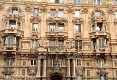 www.viaggiovagando.wordpress.com Corso Torino #architecture #art #liberty #sculpture #palace #genova #genoa #artnouveau #street #italy