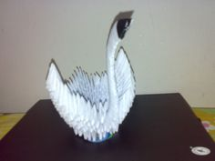 Destiny's Child: [3D Origami- Swan]::Art of folding a paper::